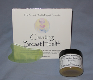 Creating Breast Health DVD, Breast Balm, and Jade Gua Sha